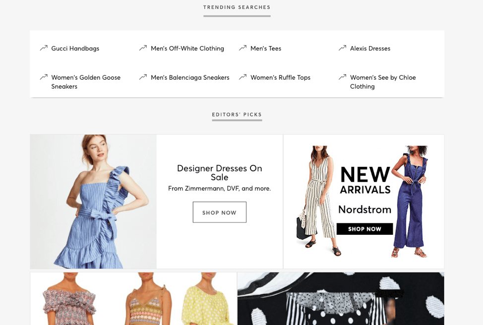 Shopstyle Trending Search
